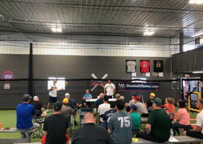 MLB Alumni Association Coaches Clinic